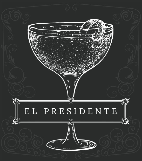 Cocktail - El Presidente