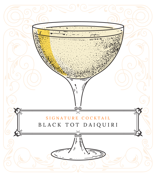 Cocktail - Black Tot Daiquiri